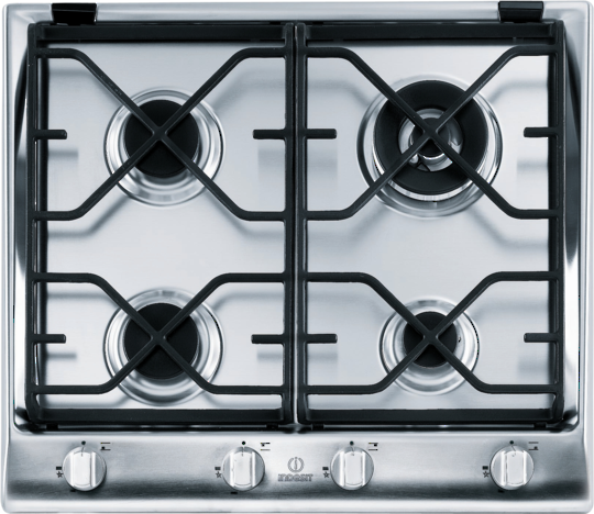 Indesit IP 641 S IX GH Prime 4 Element Gas Cooktop