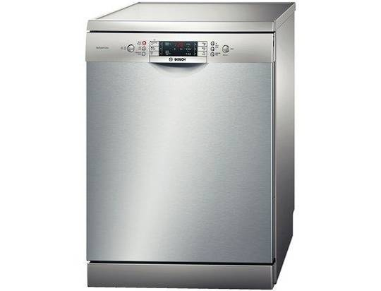 BOSCH SMS63M28AU AntiFingerprint stainless steel finish Freestanding Dishwasher