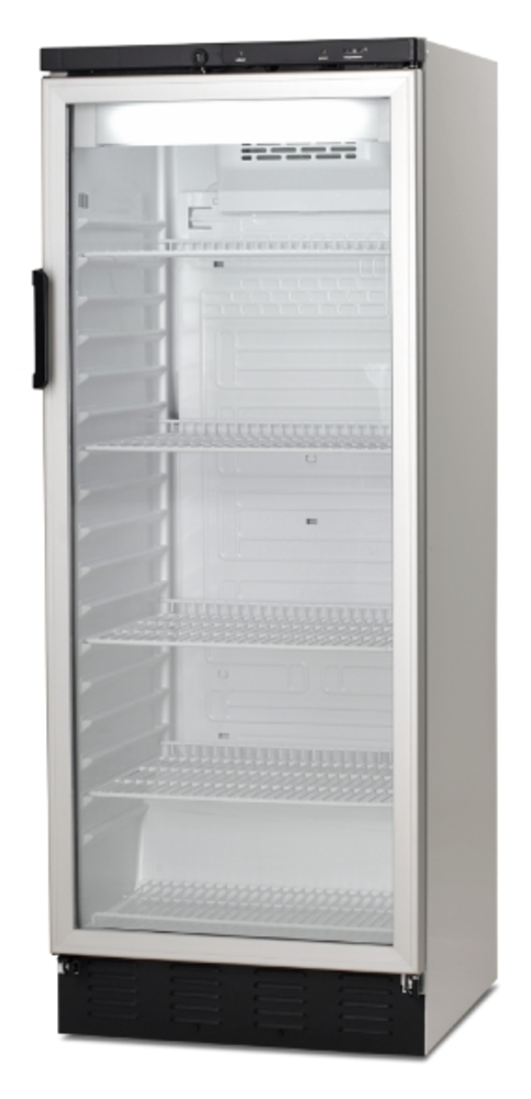 VESTFROST FKG 371 GLASS DOOR FRIDGE