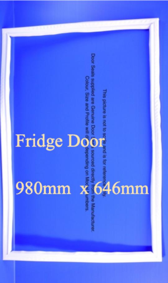 Fisher Paykel Fridge Door Seal or Gasket E442B, light grey