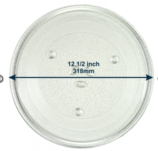 Samsung Microwave glass plate Turntable Plate or Glass C109STFC-5/XSA, C109STFC/XSA, CE1110C/XSA, CE117PAECX/XSA, 20015G,
