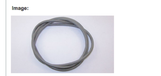 fisher and paykel freestanding oven door glass seal gasket 653aws, m6106, 6106tr, 6106war, M6106ADS, M6106AWS, M6106EDS, M6106EW