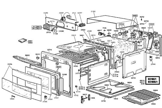 Smeg Oven TRAY SHELF UPPER SE210X,  NLA