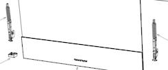 Fisher Paykel Elba Oven HINGE OB60SL11DEPX1, OB60SL11DCPX1, OB60SL9DEX1, OB60SL7DEX1, OB60SL7DEW1,