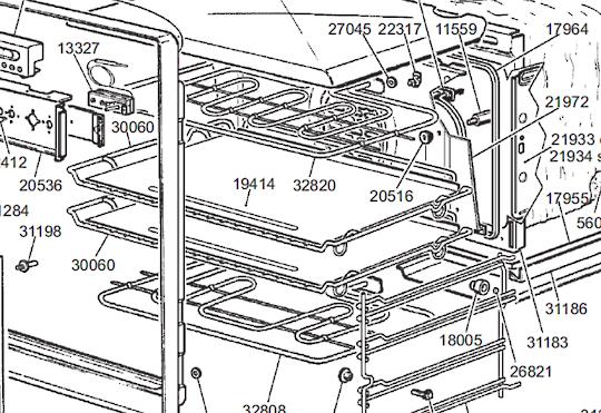 Smeg Oven baking Tray SNZ708X,  sa708x,