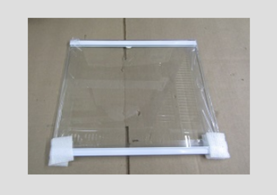Samsung Fridge Upper Glass shelf srs636scls,