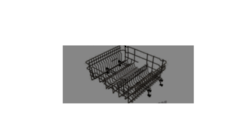 Trieste  Dishwasher Upper Basket complete TRD-WQP 12-924OF, trdwqp129240p,