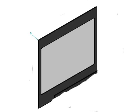 Ilve Oven inner Door Glass 600slmp,