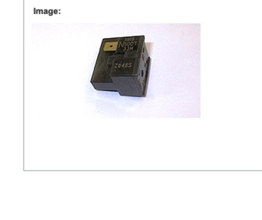 FISHER PAYKEL FRIDGE COMPRESSOR RELAY N375TR, N405TR, N400HR, N325Tr, RELAY MM8-5DDT33M