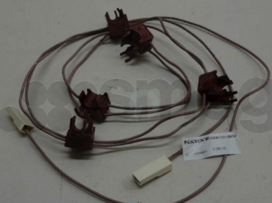 Smeg GAS COOKTOP and oven Ignition Switch link of 5 Unit made from 2008,