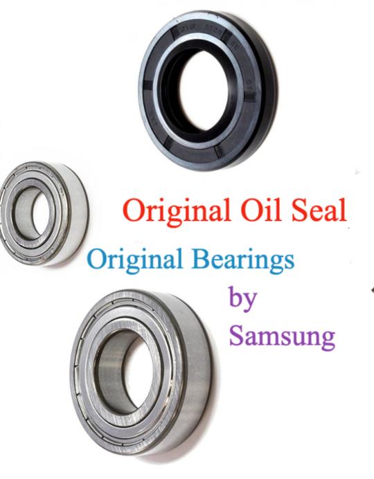 SAMSUNG WASHING MACHINE oil seal and  bearing set Original WF1752WPW,