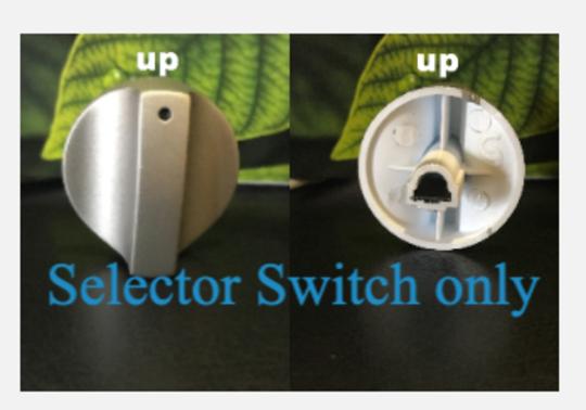 CLASSIQUE FREESTANDING OVEN Selector switch  KNOB CLCFSC60ss, CLFSG60ss, CLCFSG60SS,