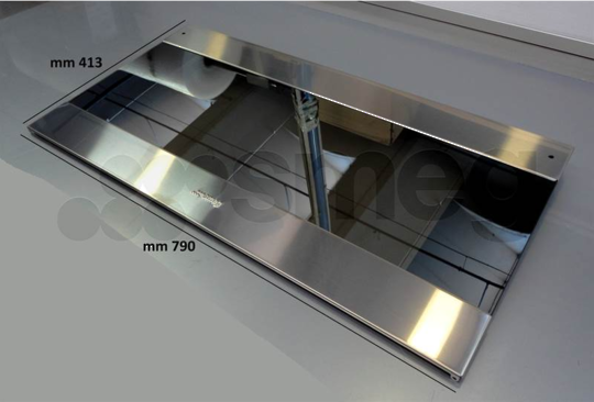SMEG OVEN outer DOOR GLASS CS19-2, version 3