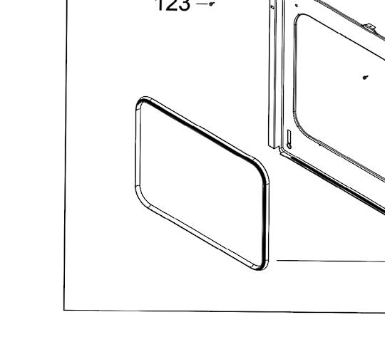 Robinhood Oven Everdure Oven door seal OBO650X OO640X,