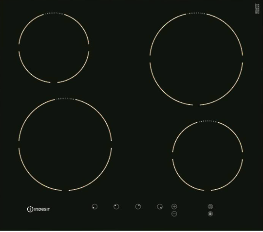 Indesit VIA640 C Touch Control Induction Hob