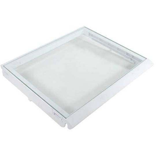 whirlpool fridge crisper bin cover frame   6ED2FHKXKQ01,