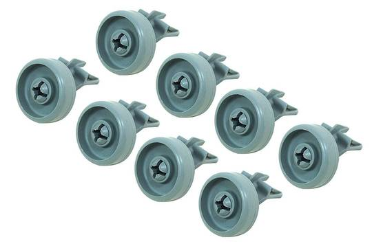 Whirlpool Dishwasher Adp6000, ADP5000 Lower Basket Wheel  PACK OF 8 ,