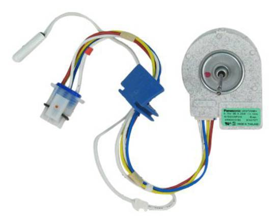GE MAYTAG WHIRLPOOL Fridge Freezer DC Evaporator Fan Motor, Freezer Section W sensor 10074