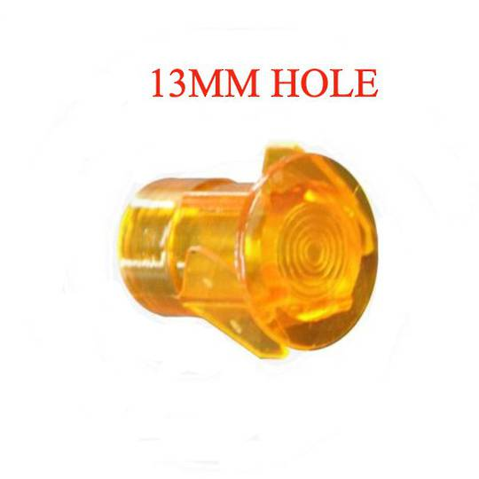 ILVE Oven light ORANGE NEON LENS COVER SMALL 13mm HOLE,
