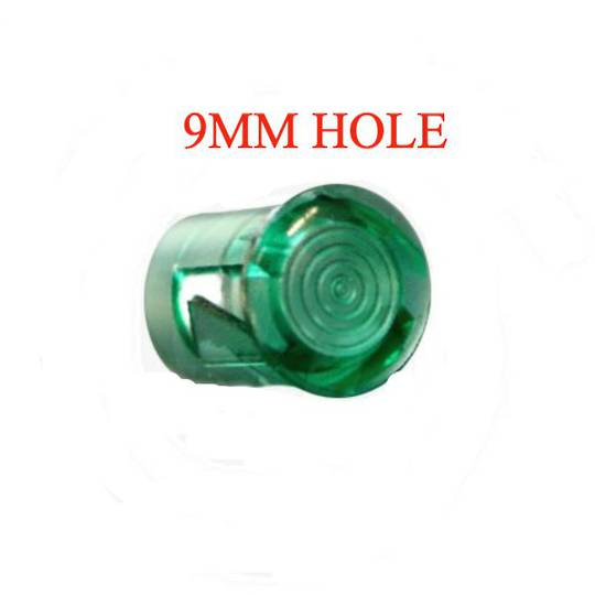 ILVE Oven GREEN NEON LENS COVER SMALL 9mm HOLE,